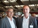 Christian Müller, Präsident der AGVS-Sektion Zürich, und Sektionssekretär Diego De Pedrini.