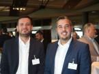 Oshan Ari und Marco Schwarzenbach von Bridgestone.