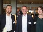 Das Eurotax-Team: (v. l.) Özkan Kösker, Mario d'Incau und Patricia Schaufelberger.