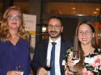 Vertreter aus den Reihen der CG CarGarantie AG mit Chief Marketing Manager Ina Berger (links), Ivan Lattarullo, Vertriebsleiter Schweiz (Mitte) und PR-Leiterin Tatjana Hambruch.