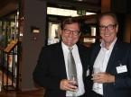 Axel Berger, Vorstandsvorsitzender der CG CarGarantie AG (links), mit AGVS-Zentralpräsident Urs Wernli.
