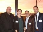 Eurotax-Kompetenz: (v. l.) Roland Strillka, Patricia Schaufelberger, Olivier Lourdin und Patrick Schneider.